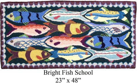 Bright Fish School