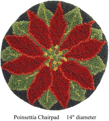 Poinsettia Chairpad