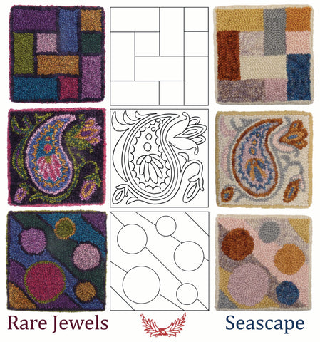 Rare jewels and Seascape color collections
