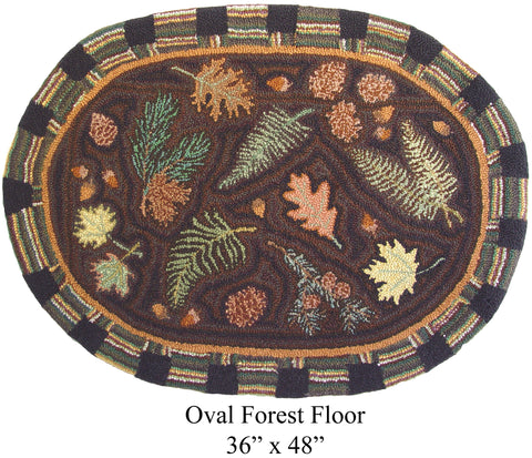Oval Forest Floor