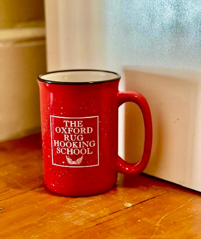 The Oxford Rug Hooking School Mugs
