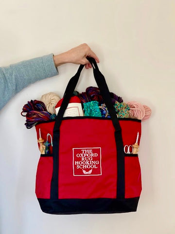 Oxford Rug Hooking School On-the-Go Tote Bag