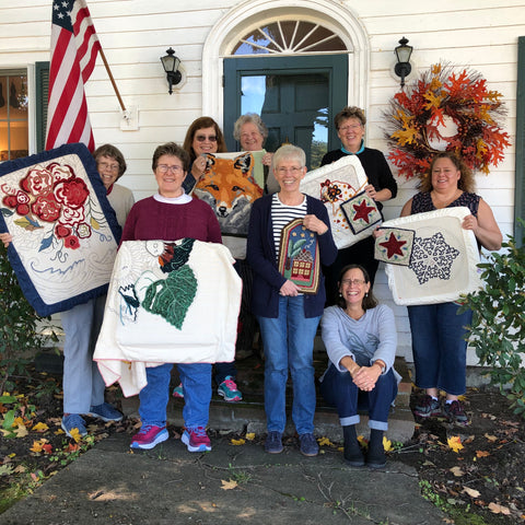 Autumn Five-Day Rug Hooking Retreat & Dye Day
