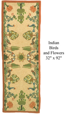 Indian Birds and Flowers