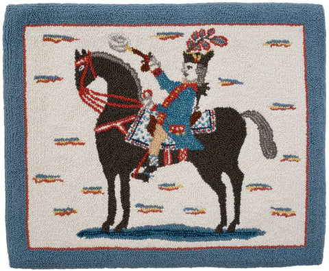 George Washington on a Horse Pattern