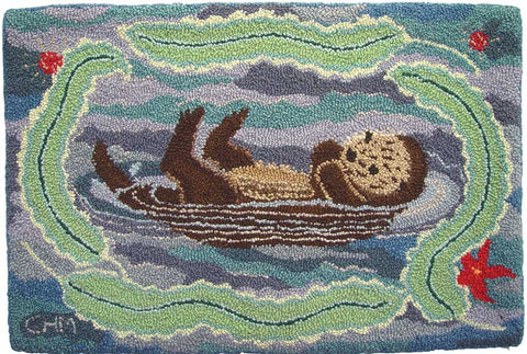 Blue Otter Pattern