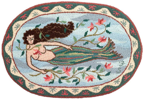 Oval Mermaid Pattern