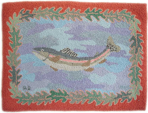 Rectangular Rainbow Trout Pattern
