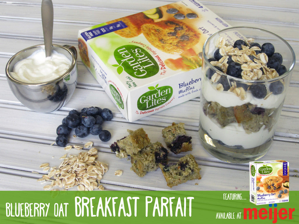 Blueberry Oat Breakfast Parfait