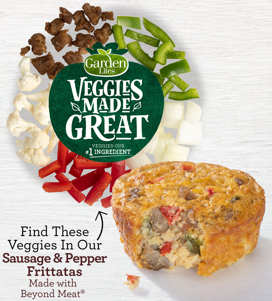 Sausage & Pepper Frittata made with Beyond Beef®