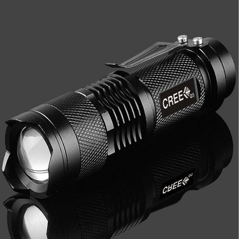 LED ADJUSTABLE ZOOM FLASHLIGHT