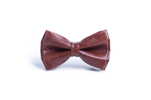 Basic brown bow tie - Exorphe Collection - 1