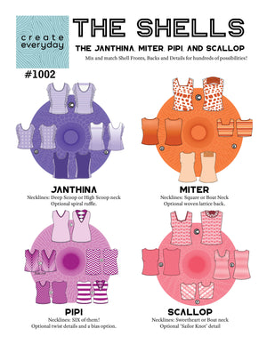 1002 THE SHELLS - JANTHINA, MITER, PIPI, SCALLOP (PDF)