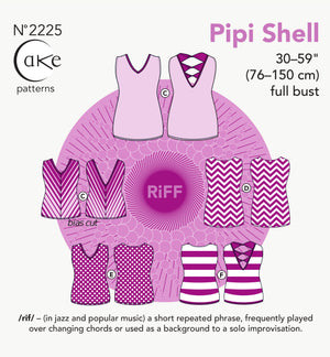 SEWING CAKE PATTERNS - PIPI KNIT TOP (PAPER)