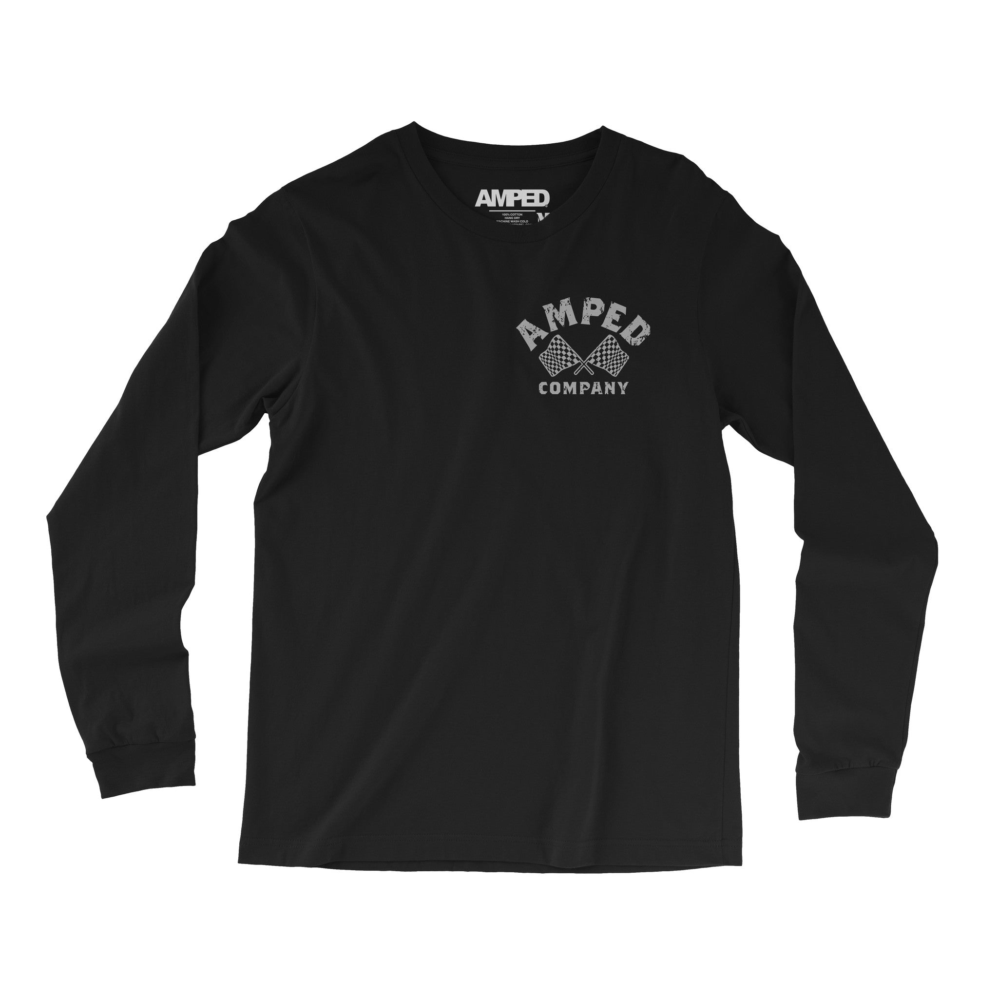 Moto Life Long Sleeve / Black