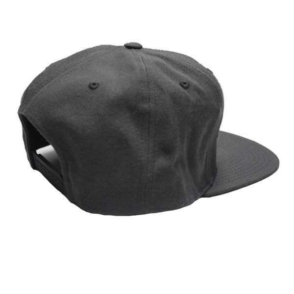 Power Snapback in Dark Grey
