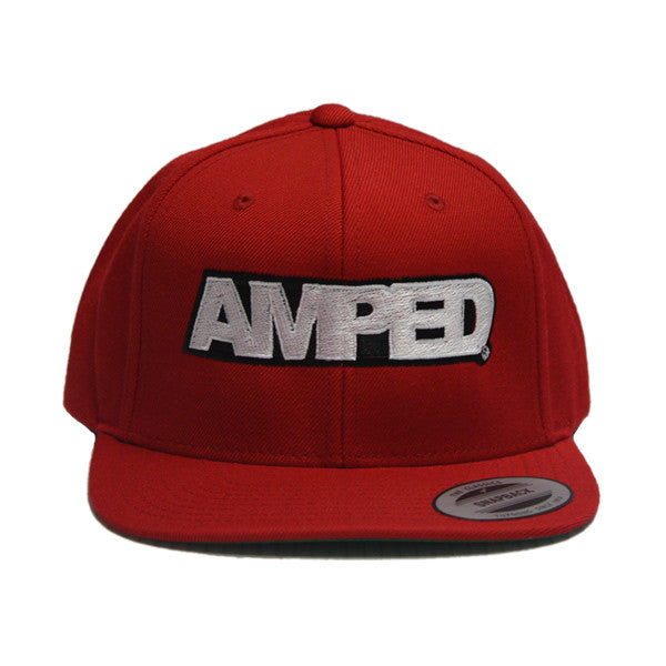 Power Snapback in Red