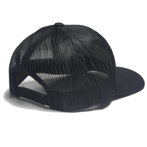 Power Trucker Snapback in Black