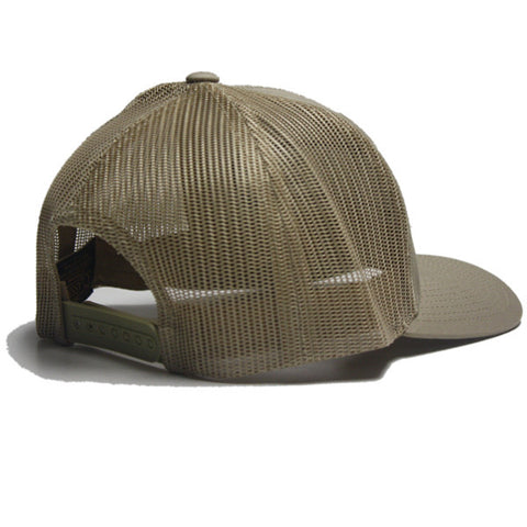 Power Trucker Snapback in Khaki