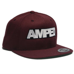 Power Snapback in Maroon