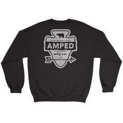 Arrow Crewneck / Black