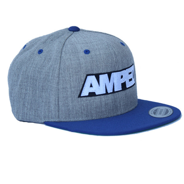 Power Snapback in Heather/Royal
