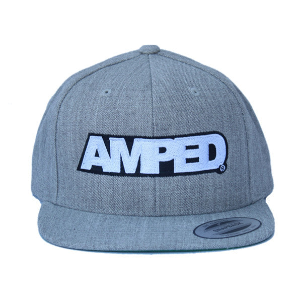 Power Flat Snapback in Heather