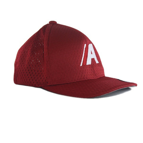 Icon Athletic Mesh Fitted in Red