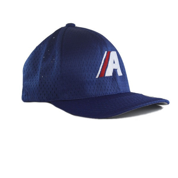 Icon Athletic Mesh Fitted in Royal