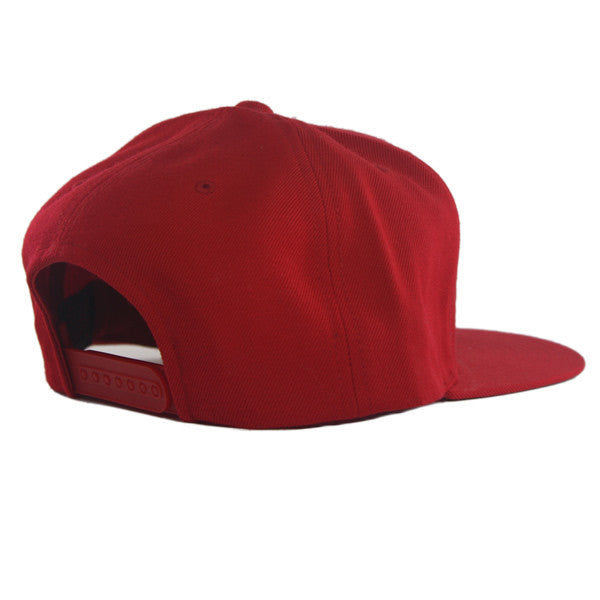 Icon Snapback in Red