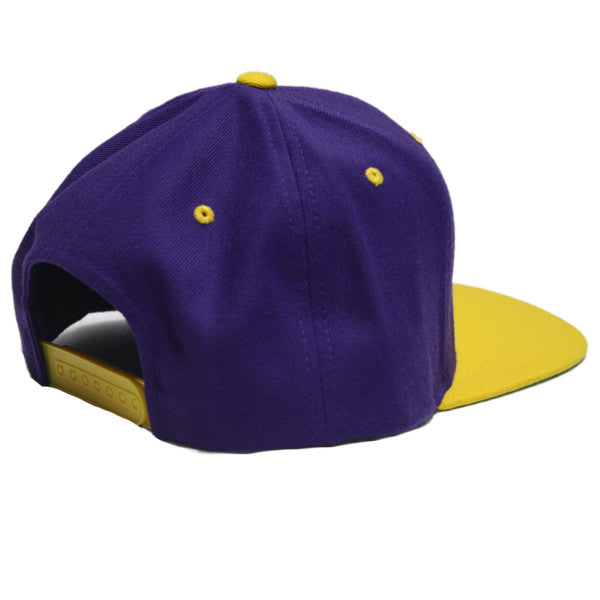 Power Snapback in Purple/Gold