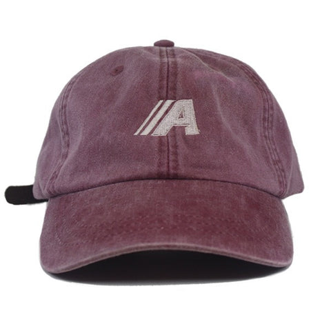 Micro Icon Strapback in Burgundy