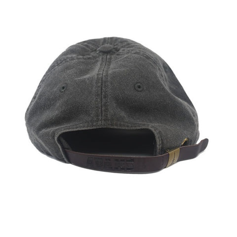 Micro Icon Strapback in Black