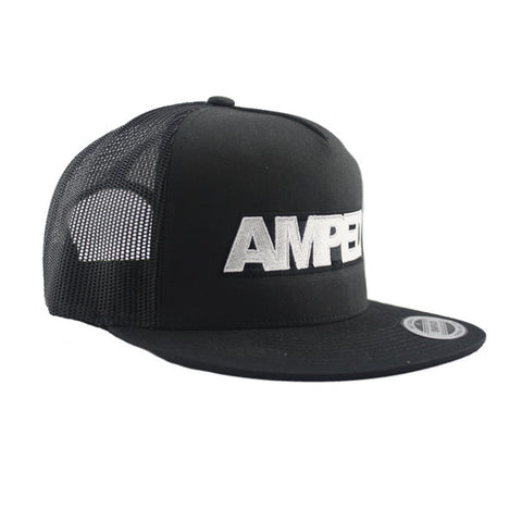 Power Trucker Flat Snapback in Black