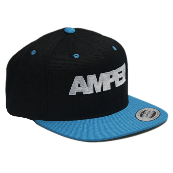 Power Snapback in Black/Blue