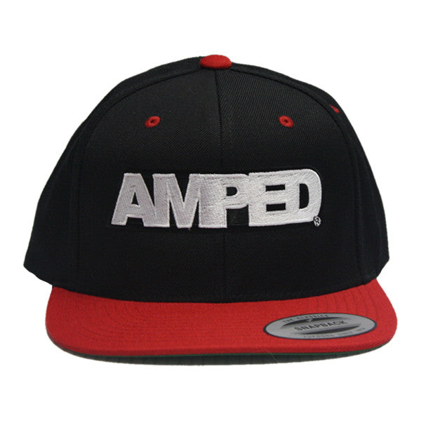 Power Flat Snapback in Black/Red