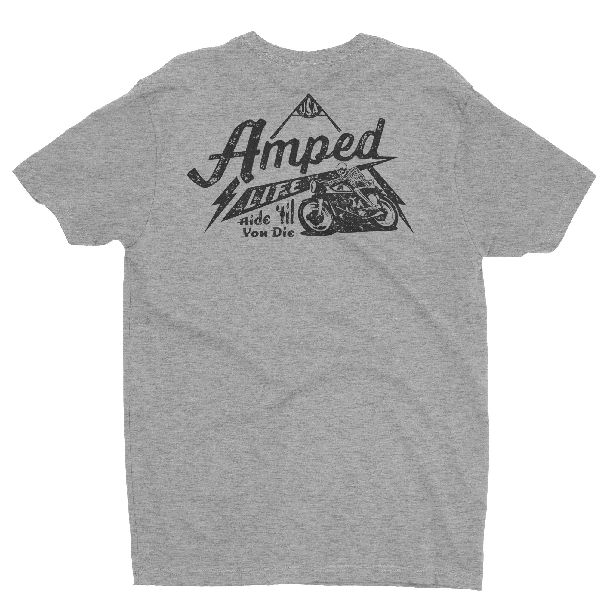 Night Rider Tee / Heather Grey