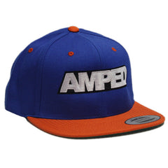 Power Flat Snapback in Blue/Orange