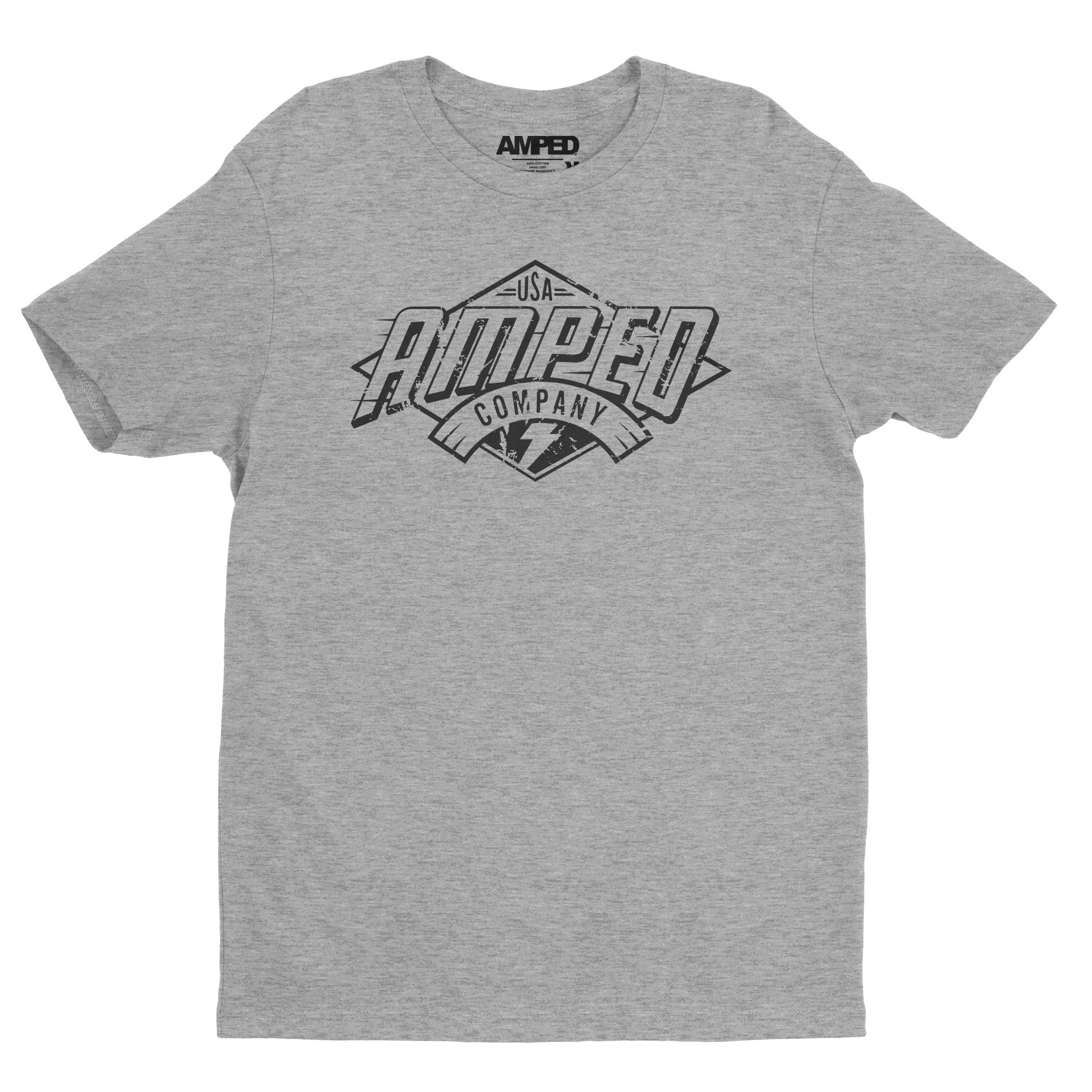 Standard Tee / Heather Grey