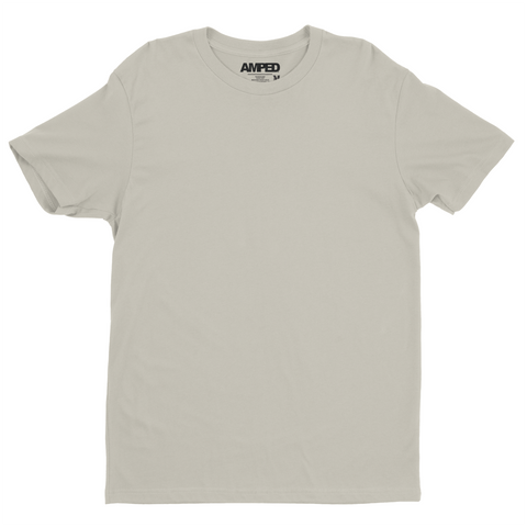 Basic Crew Tee Premium Sueded / Sand