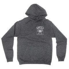 Oxford Hoodie / Dark Heather Grey