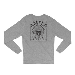Oxford Long Sleeve / Heather Grey