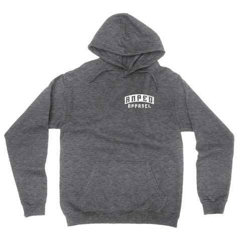 Live Fast Hoodie / Dark Heather Grey
