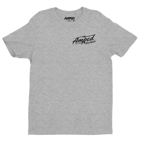 Worldwide Tee / Heather Grey