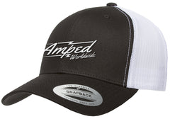 Worldwide Trucker Snapback in Black/White