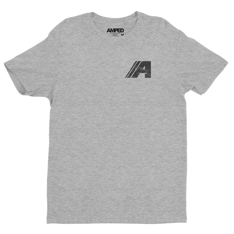Wrench Tee / Heather Grey