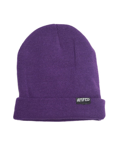 Primary Beanie in Purple