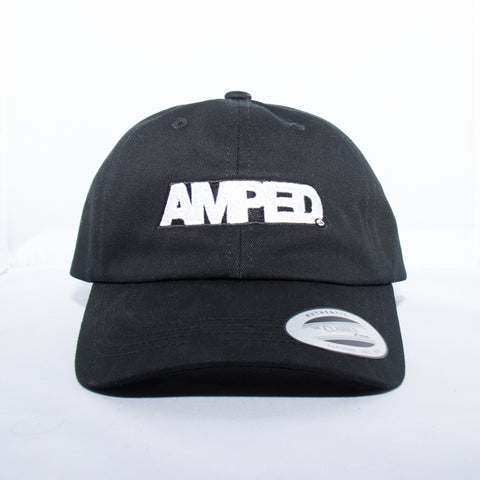Power Strapback Hat in Black