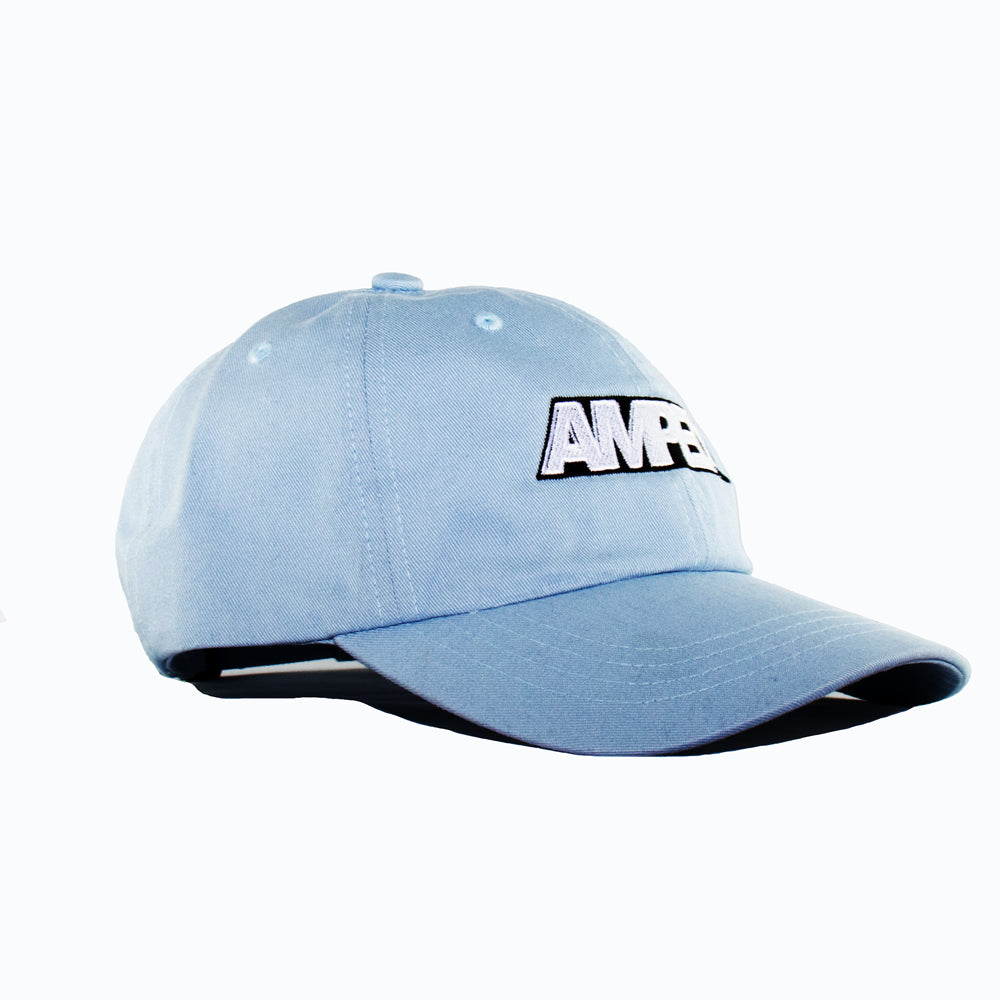 Power Strapback Hat in Light Blue