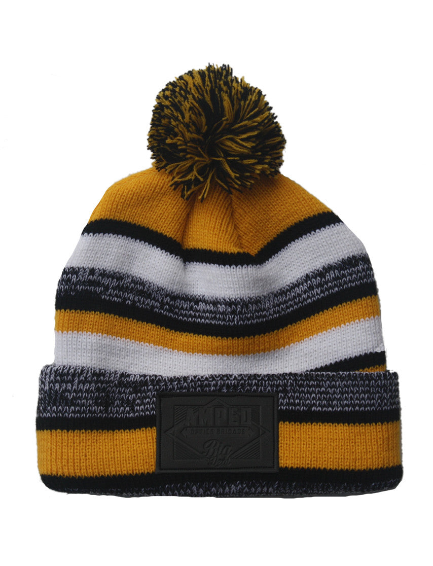 NFL Beanie in Gold/Black/White